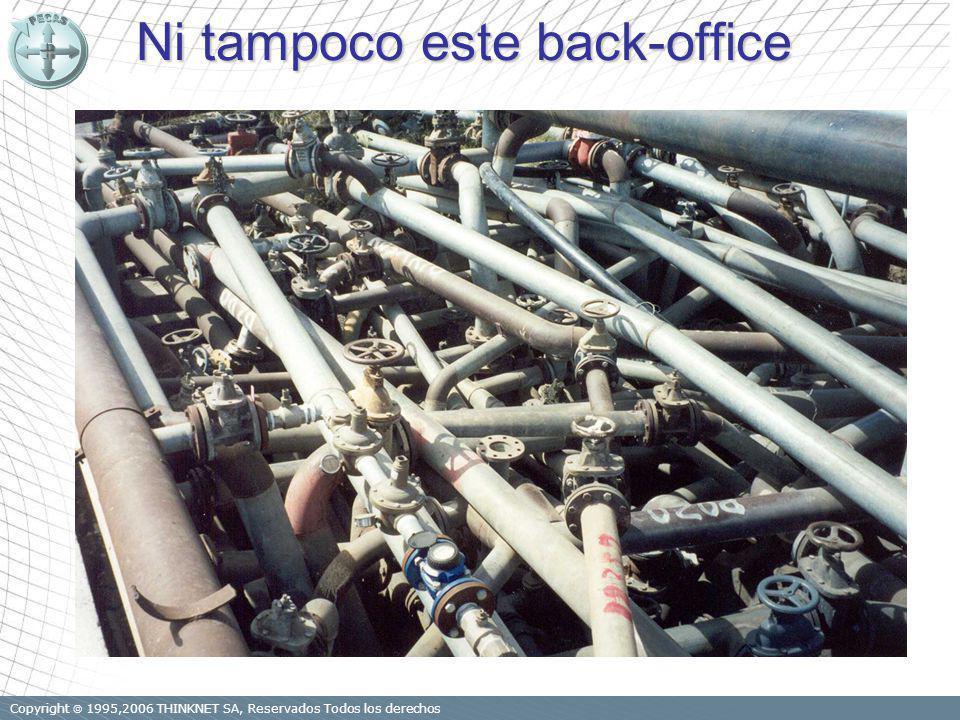 Copyright 1995,2006 THINKNET SA, Reservados Todos los derechos Ni tampoco este back-office
