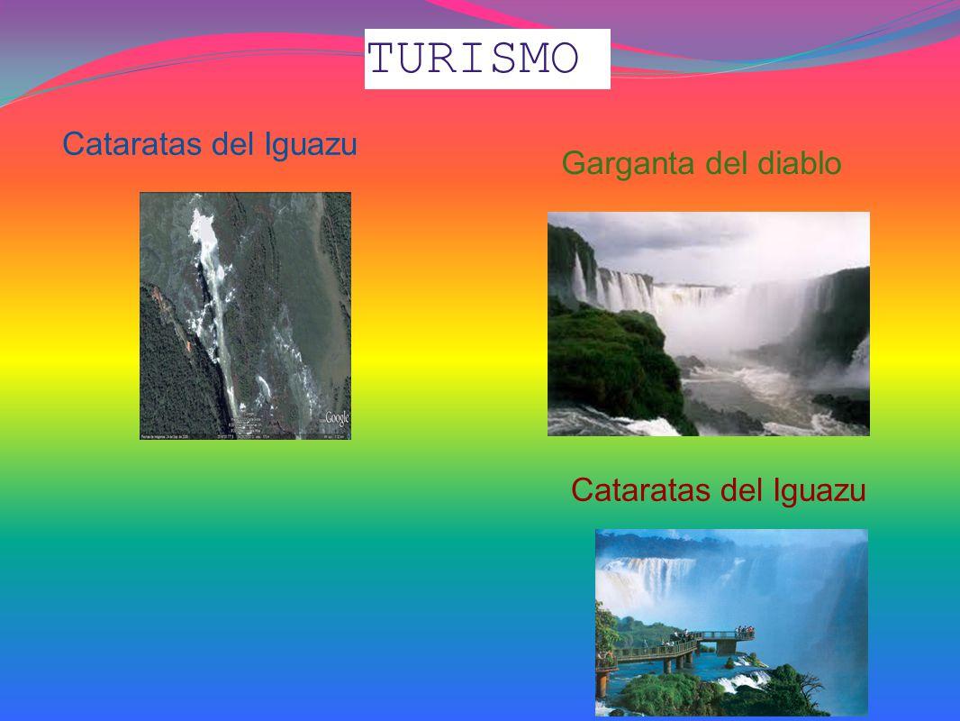TURISMO Cataratas del Iguazu Garganta del diablo