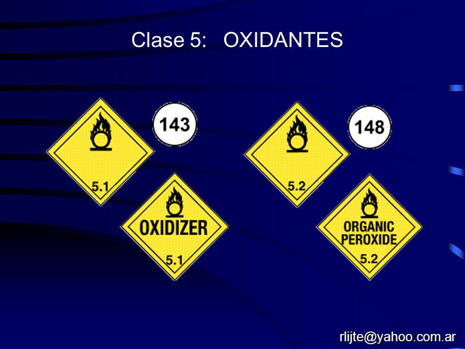 Clase 4: SOLIDOS INFLAMABLES rlijte@yahoo.com.ar