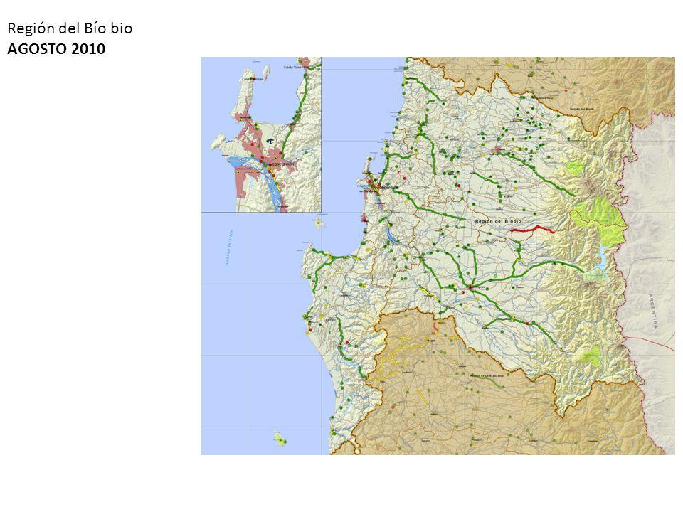 Región del Bío bio AGOSTO 2010