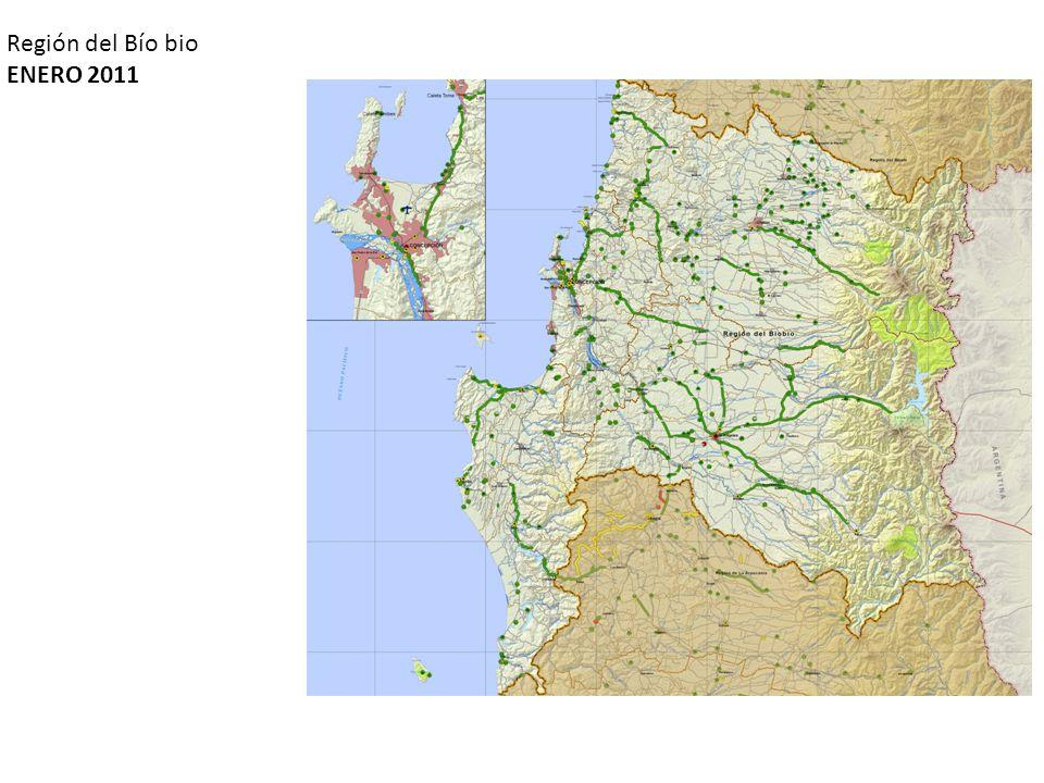 Región del Bío bio ENERO 2011