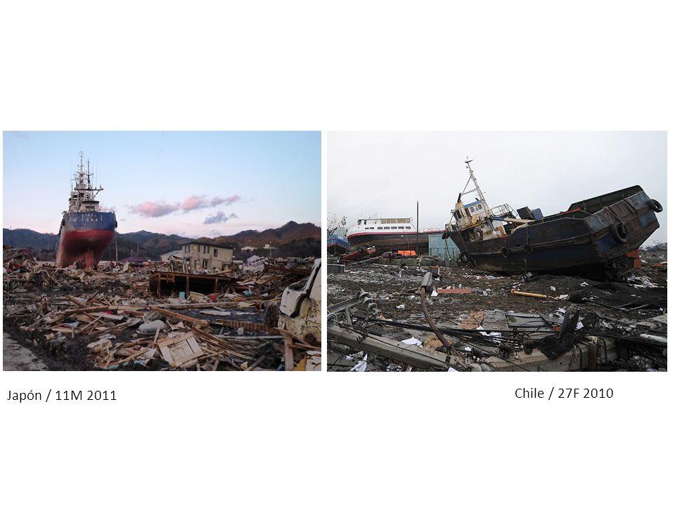 Chile / 27F 2010 Japón / 11M 2011