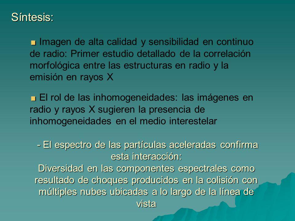 Síntesis: Imagen de alta calidad y sensibilidad en continuo de radio: Primer estudio detallado de la correlación morfológica entre las estructuras en