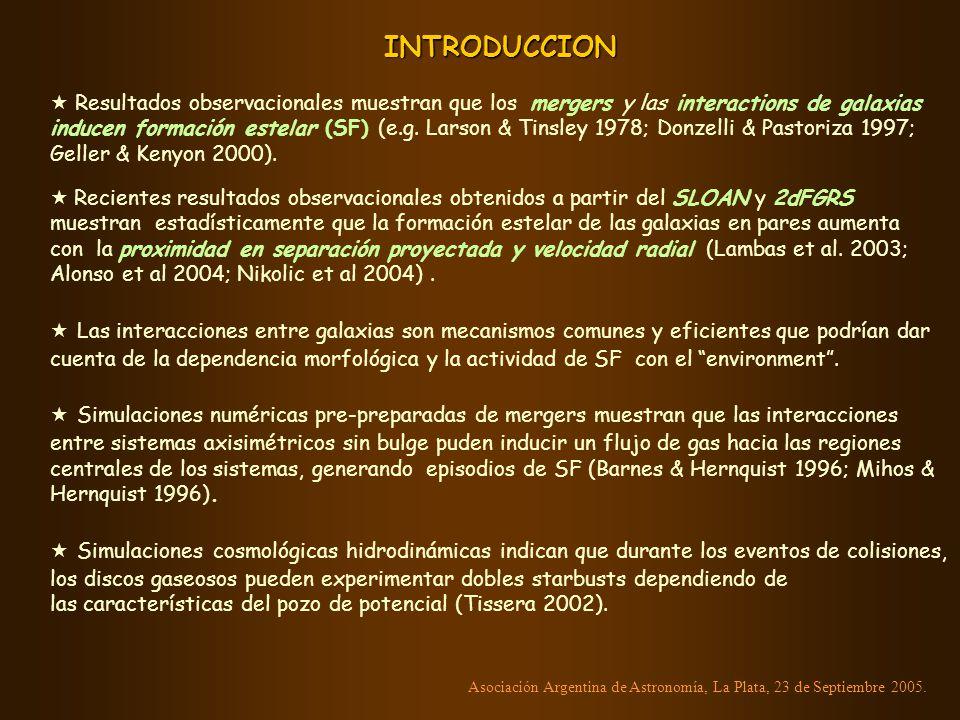 Colores - SF activas pasivas Asociación Argentina de Astronomía, La Plata, 23 de Septiembre 2005.