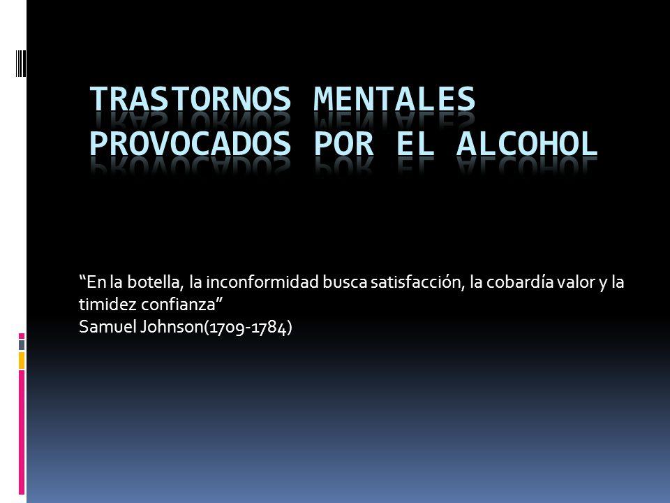 Von Korning Clasificación Tipo I : 75 % de los hombres y mayoría de las mujeres Personalidad pasivo-dependiente ansiosa Rápida tolerancia a los efectos ansiolíticos del alcohol Mayor adherencia al tratamiento