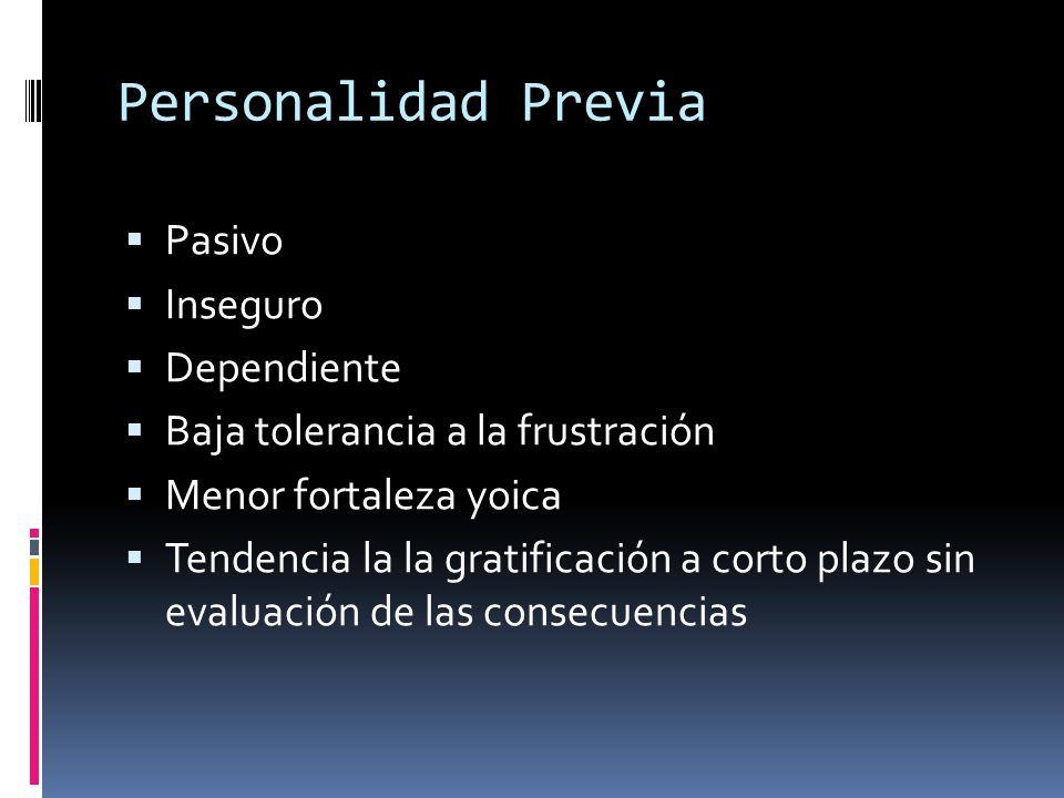 Alonso Fernandez Los seres que se vuelven alcohólicos presentan estos rasgos comunes: vivencia de soledad, la desesperanza y el imperio del presente anónimo y pasivo