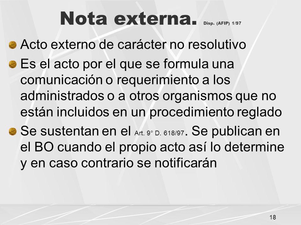 18 Nota externa.Disp.
