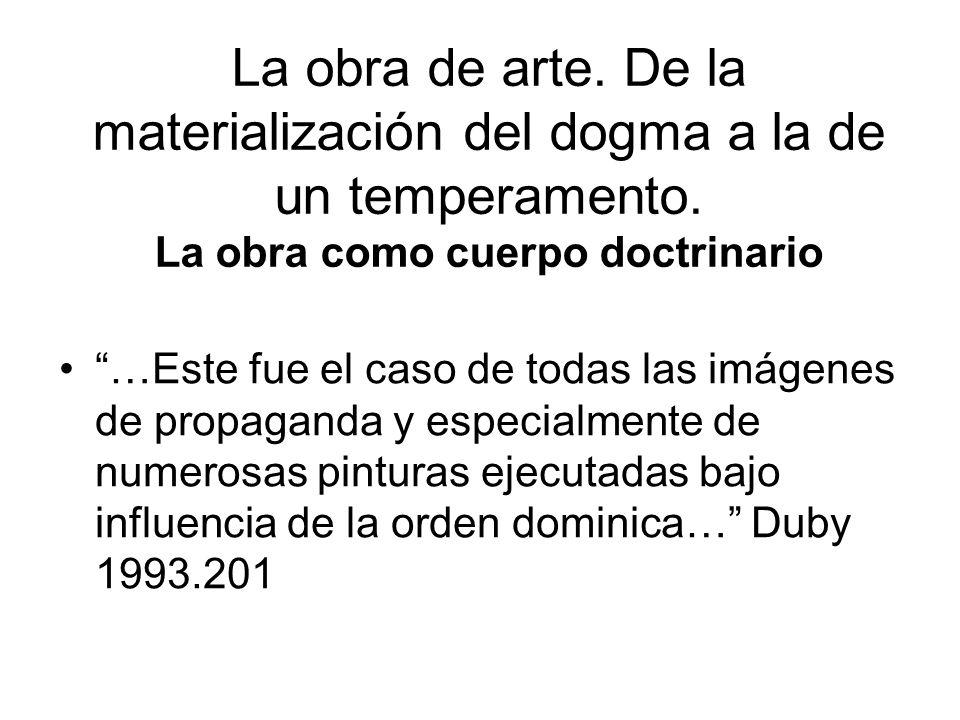 El arte del siglo XIV.