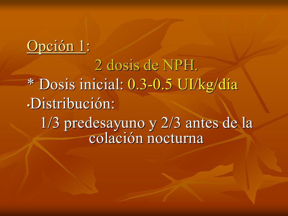 Pautas de insulinización en Diabetes Pregestacional.