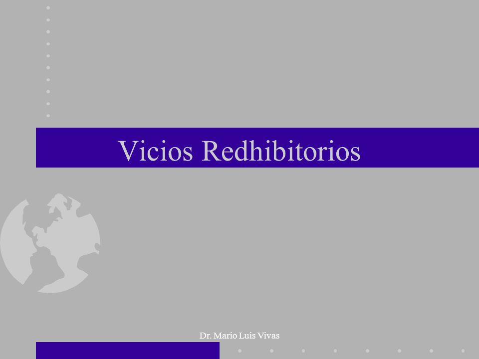 Dr. Mario Luis Vivas Vicios Redhibitorios