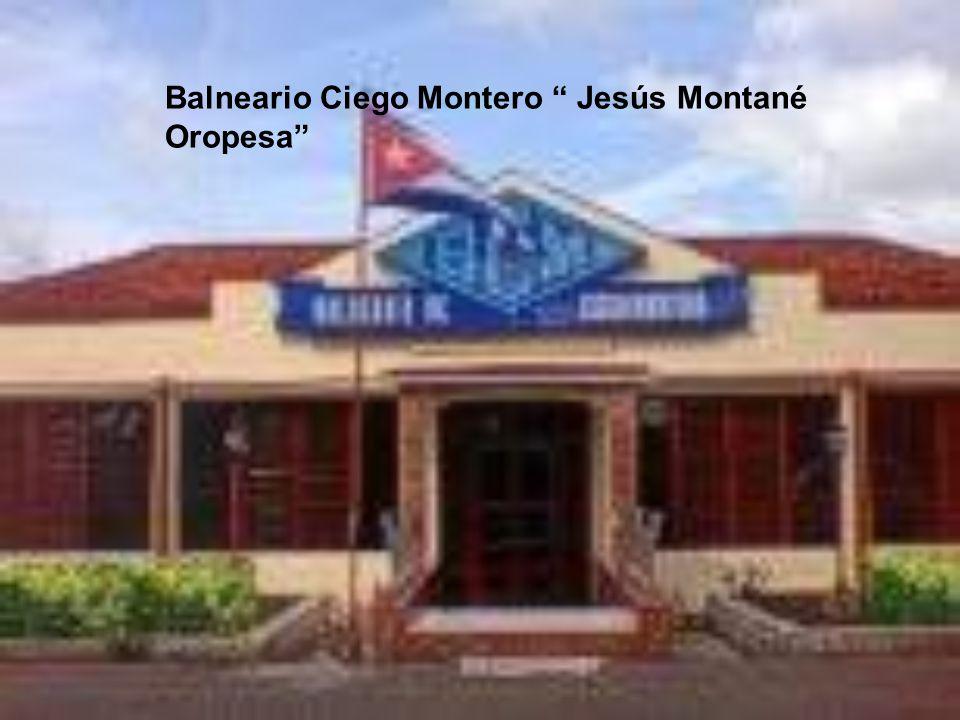 Balneario Ciego Montero Jesús Montané Oropesa