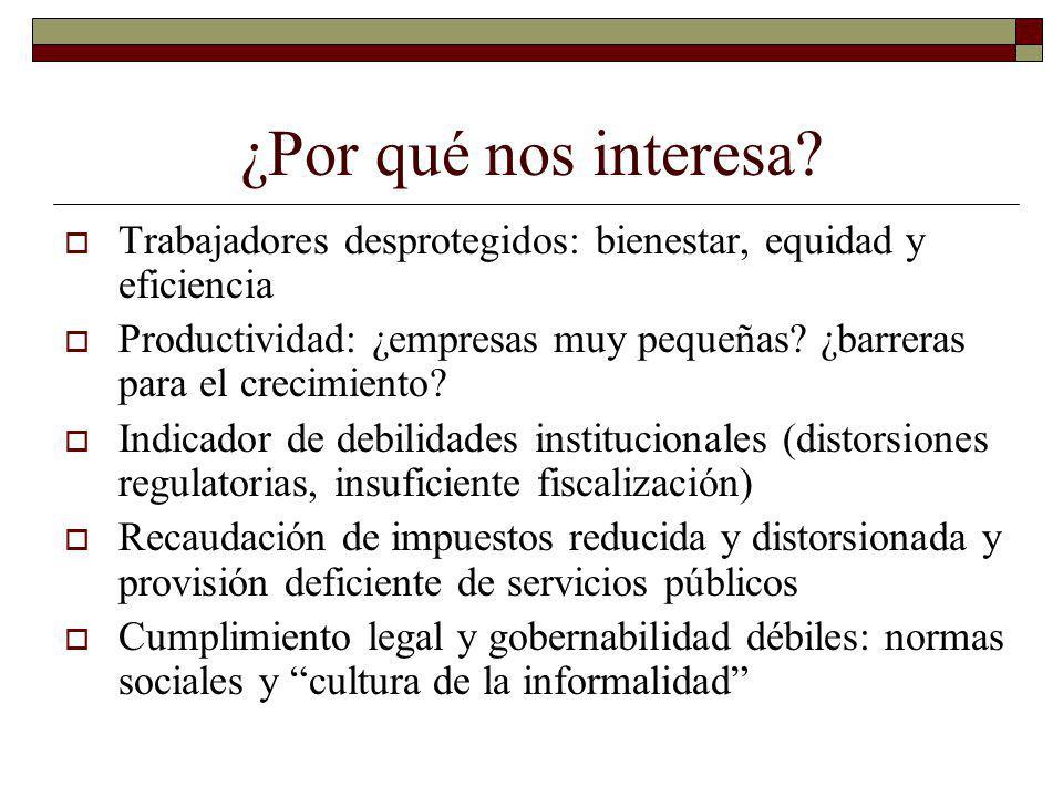 En contraste, programas de asistencia social tienden a llegar mejor a los pobres Cobertura de los Programas Oportunidades y Seguro Popular en México