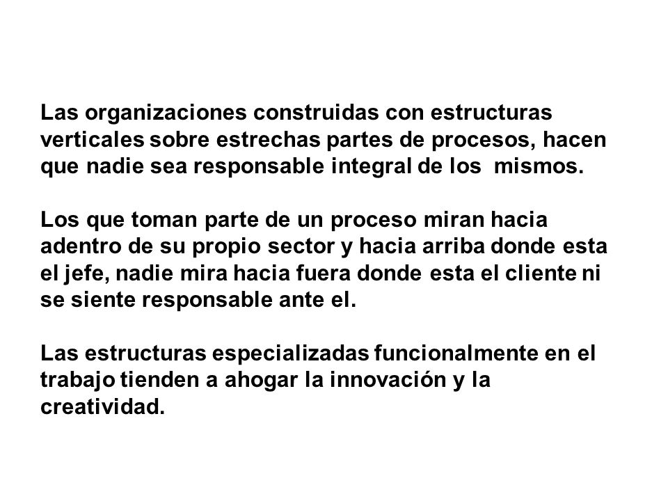 Reingenieria es la revisión fundamental y el rediseño radical de los procesos para alcanzar mejoras espectaculares en medidas criticas de rendimiento, tales como costos, calidad, servicio y rapidez Michael Hammer, James Champy Reengineering the Corporation : A Manifesto for Business Revolution 1993 Harper Collins
