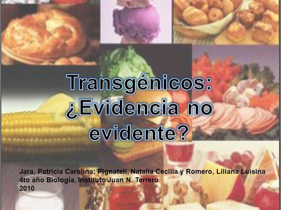 Jara, Patricia Carolina; Pignateli, Natalia Cecilia y Romero, Liliana Luisina 4to año Biología, Instituto Juan N.