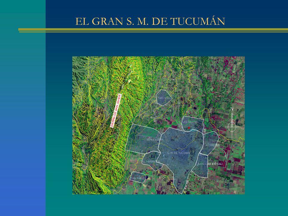 OBJETIVOS La relación Intensidad-Duración-Recurrencia que se utiliza para la obtención de las lluvias de diseño en el Gran San Miguel de Tucumán fue desarrollada con registros pluviográficos y pluviométricos de la estación meteorológica El Colmenar (EEAOC).