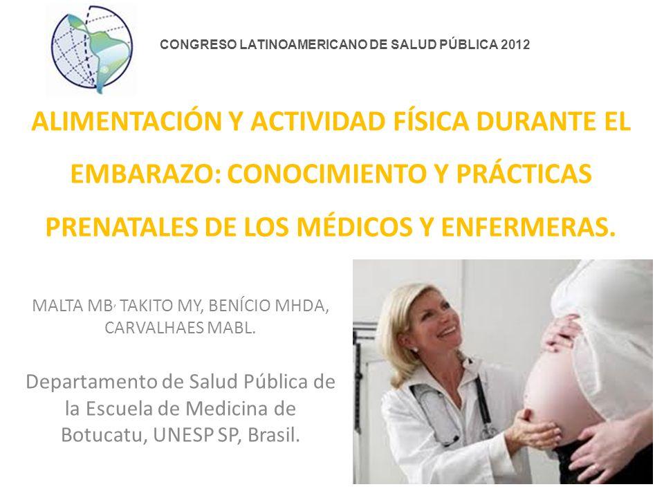 Conclusión Los temas alimentación saludable y actividad física, aunque muy importantes en la definición de los resultados de salud de la madre y hijo.