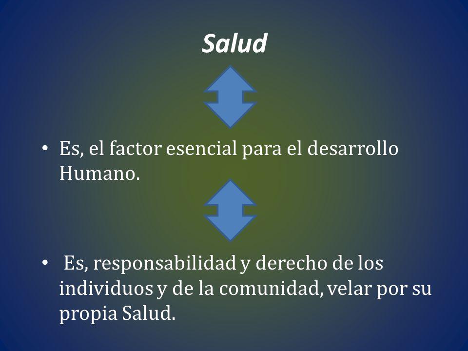 Reorientación del sistema de Salud Apertura de conducciones entre los sectores sociales, políticos, económicos, ambientales.