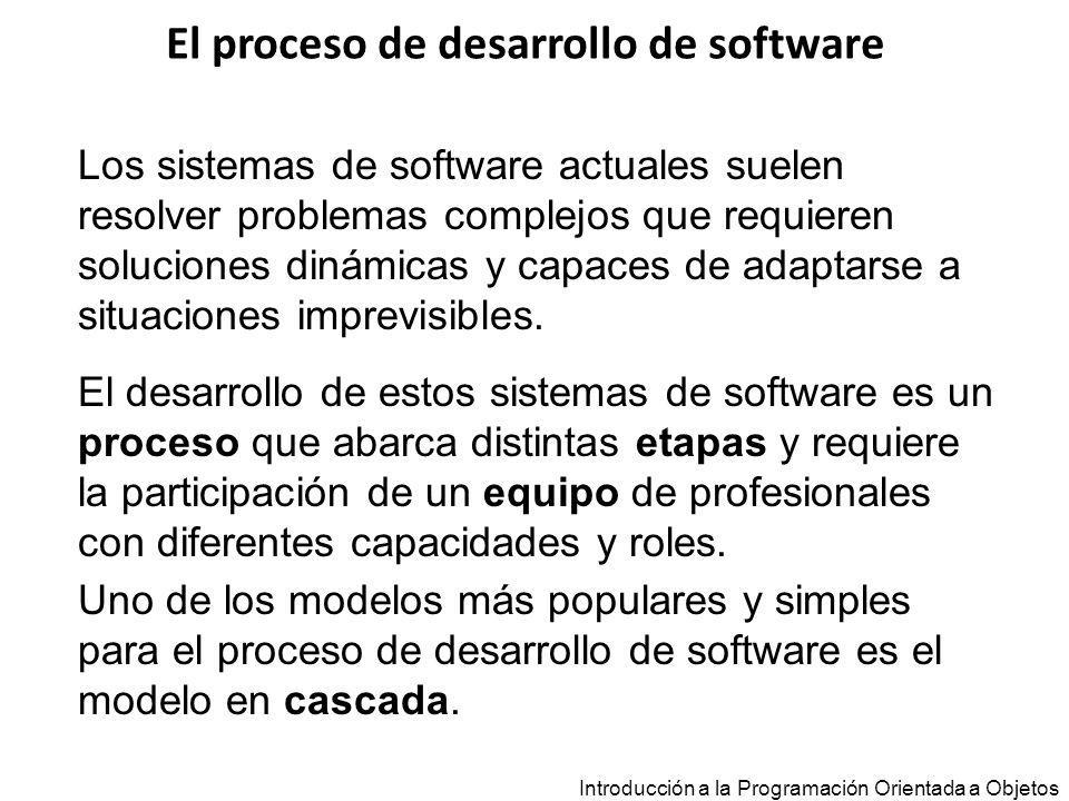 Introducción a la Programación Orientada a Objetos public boolean puedeExtraer(float m) { return (saldo – m > -max_descubierto); } Alternativas de Diseño