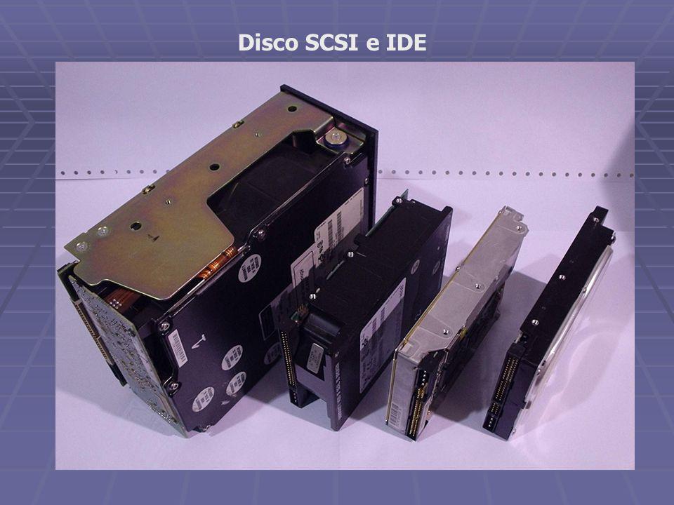 Disco SCSI e IDE
