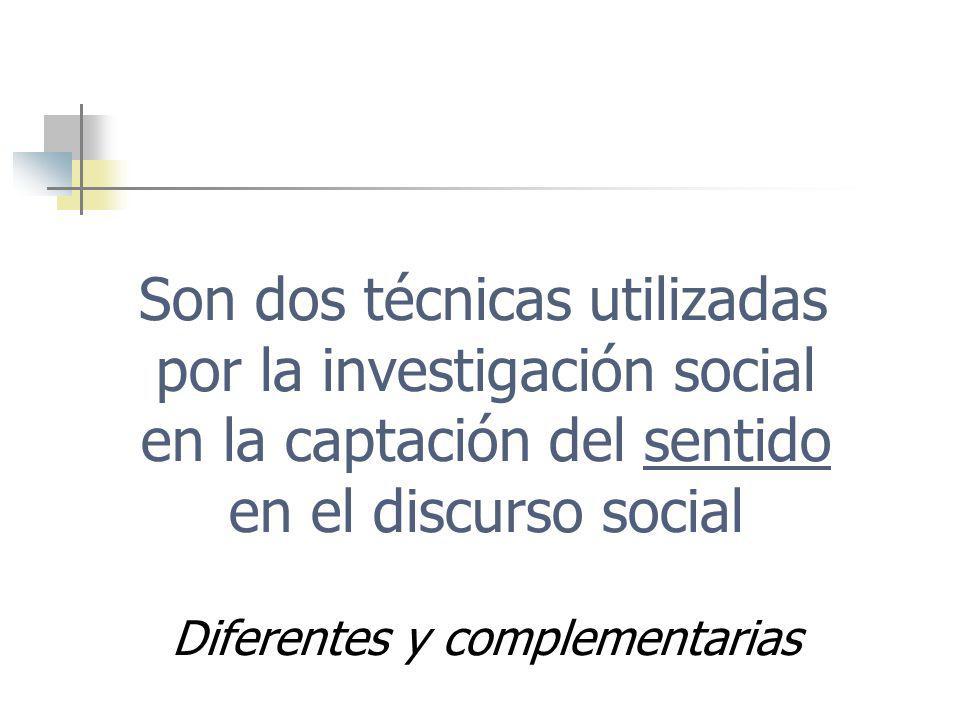 Recuperación del SENTIDO COMÚN en el discurso social, mediante: Grupo de Discusión El deber… … o ideal social, lo normativo, los modelos Grupo Focal El saber… … o principio de realidad, las tipificaciones sociales