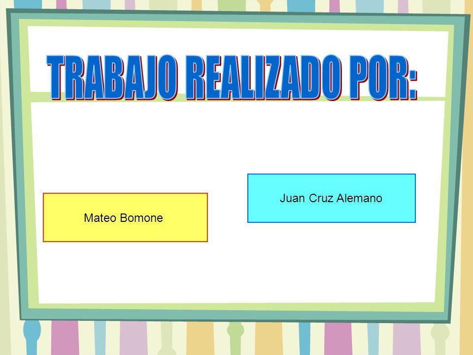 Mateo Bomone Juan Cruz Alemano