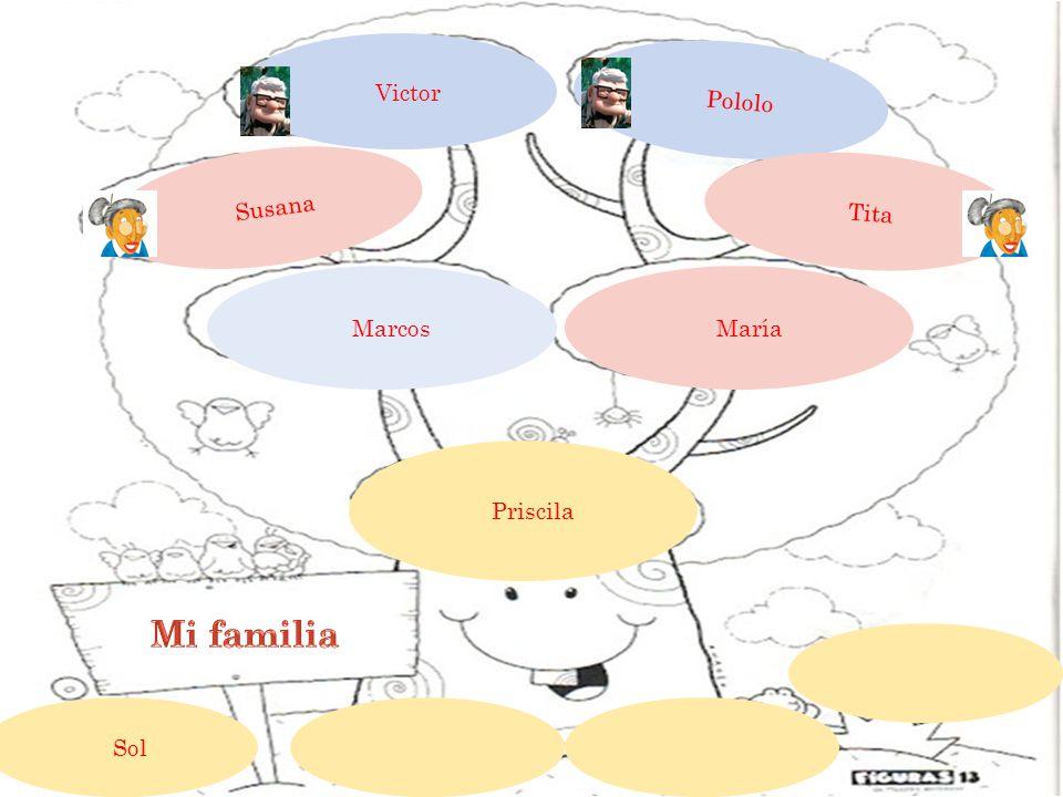Victor Pololo Susana Tita María Marcos Priscila Sol