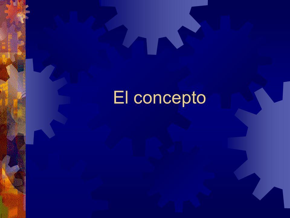El concepto