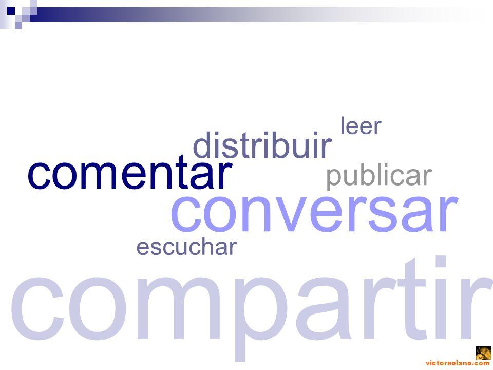 victorsolano.com publicar compartir escuchar comentar distribuir conversar leer