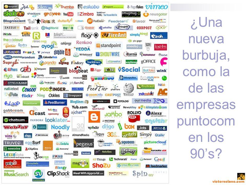 victorsolano.com ¿Una nueva burbuja, como la de las empresas puntocom en los 90s