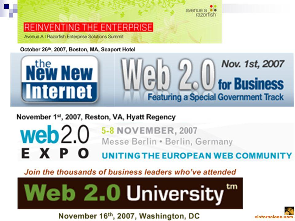 victorsolano.com Con algo de nostalgia, pero con look de Web 2.0