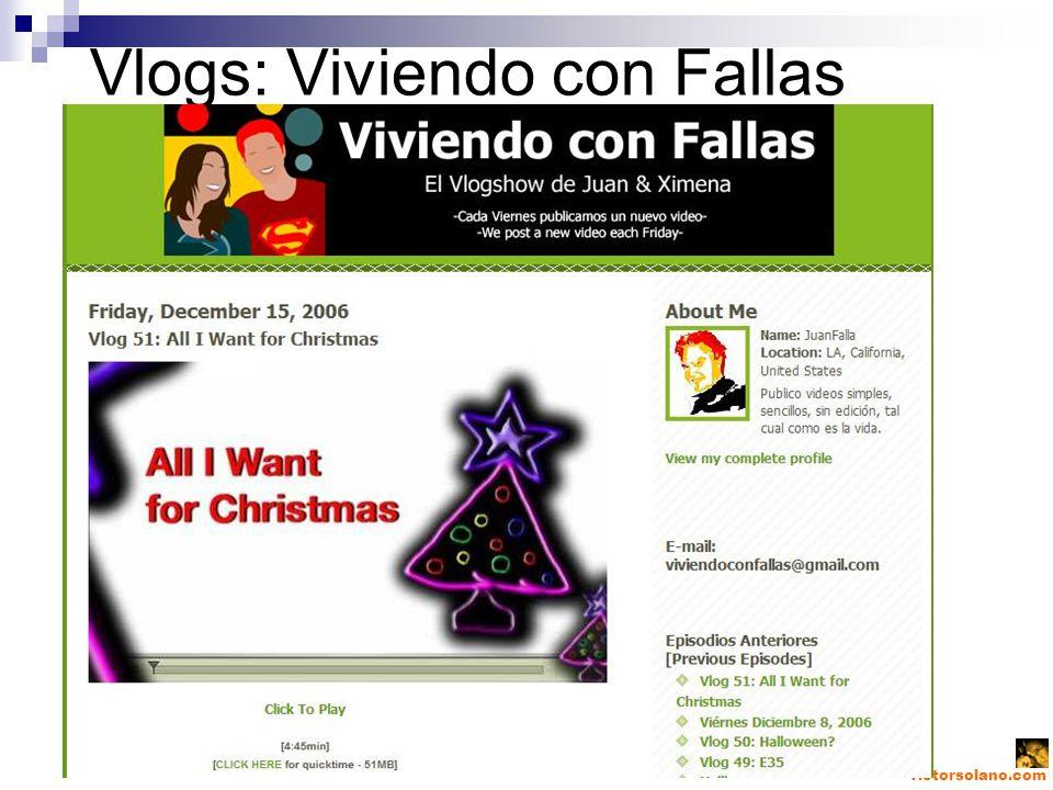 victorsolano.com Vlogs: Viviendo con Fallas