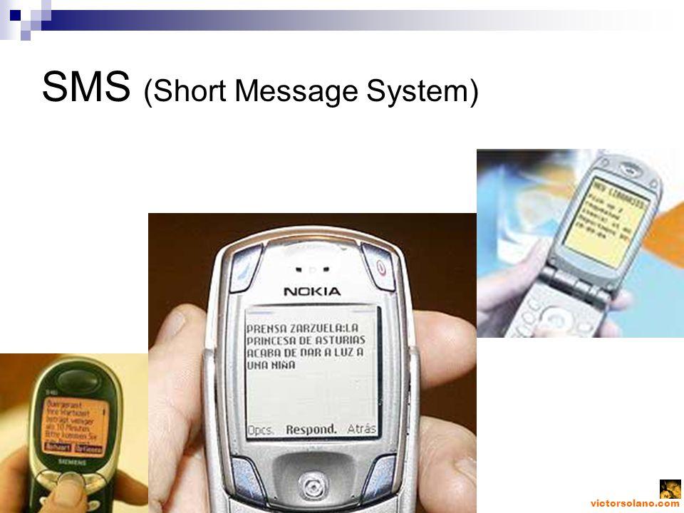 victorsolano.com SMS (Short Message System)