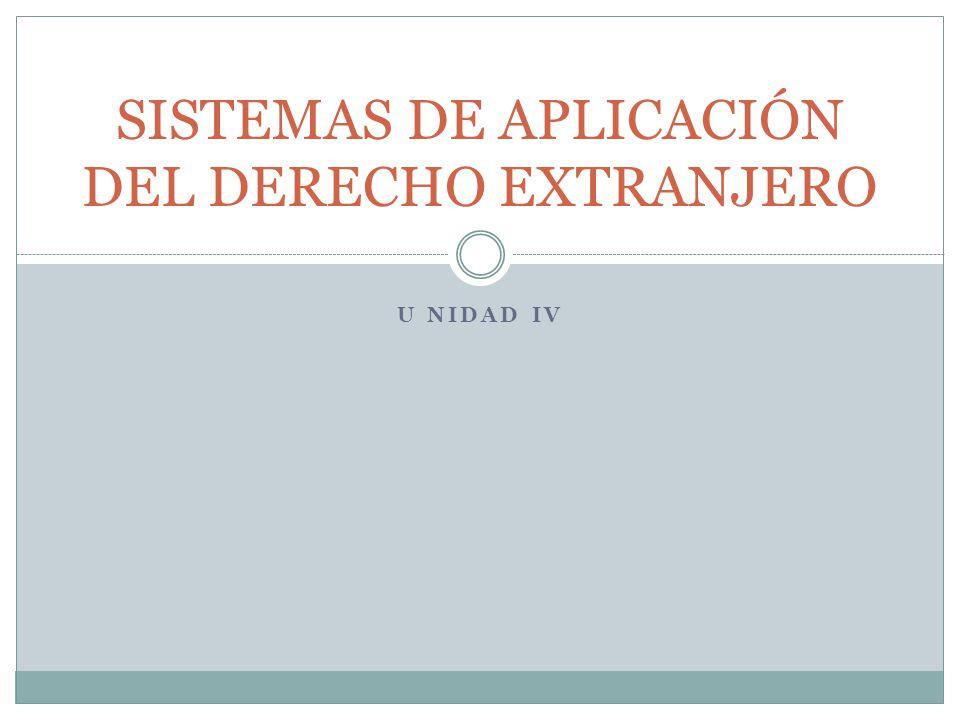 CANTIDAD DE DERECHO EXTRANJERO APLICABLE CONEXIÓN MÍNIMA MEDIA MÁXIMA -