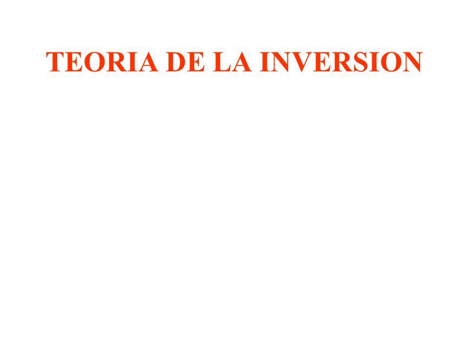 TEORIA DE LA INVERSION