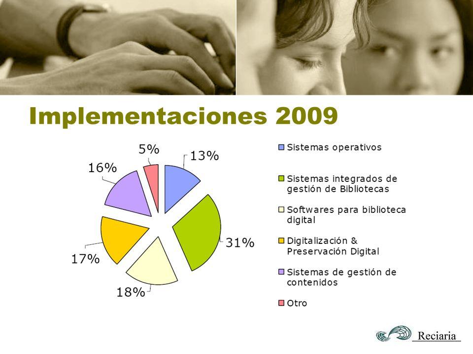 Implementaciones 2009