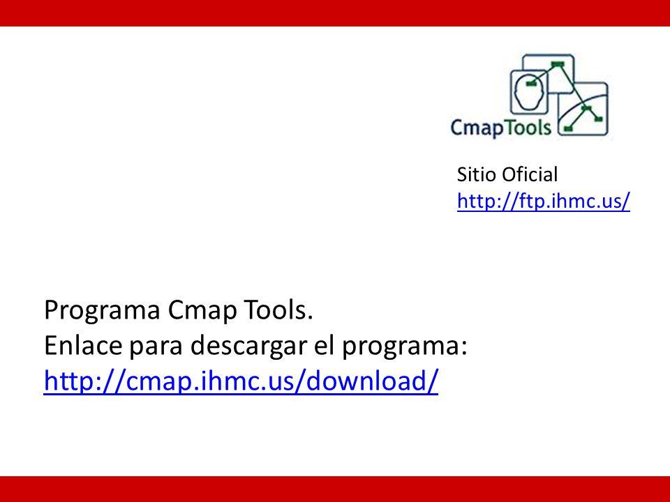 Programa Cmap Tools.