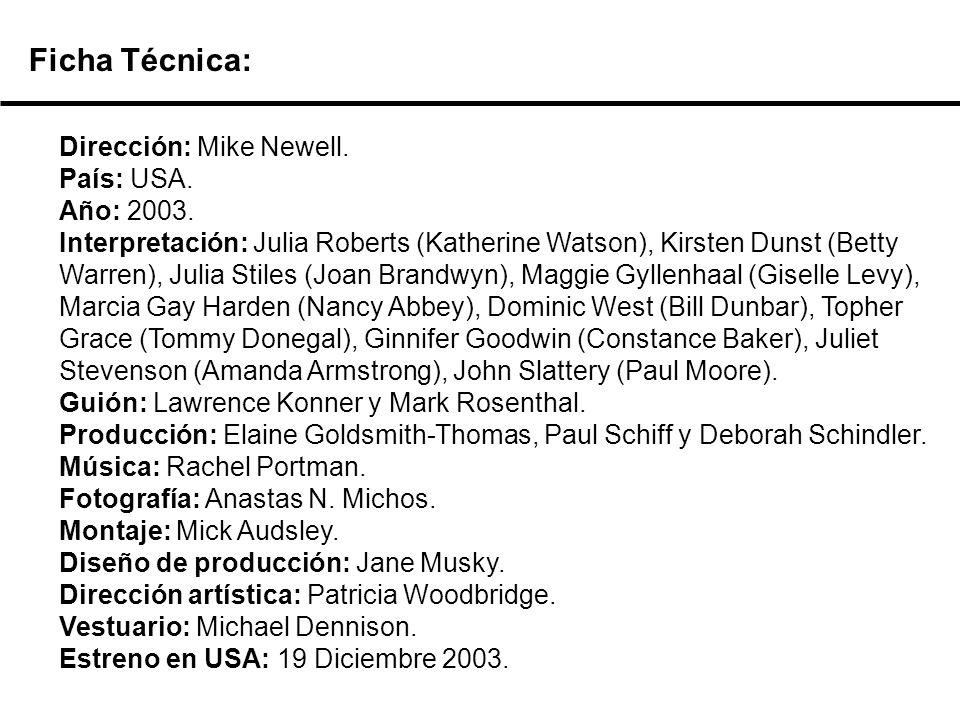 Dirección: Mike Newell.País: USA. Año: 2003.