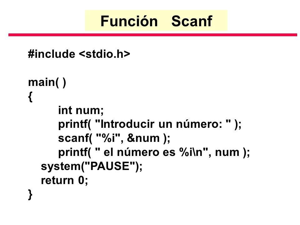#include main( ) { int num; printf(