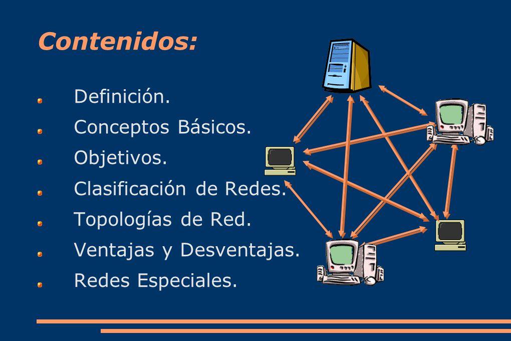 Contenidos: Definición.Conceptos Básicos. Objetivos.