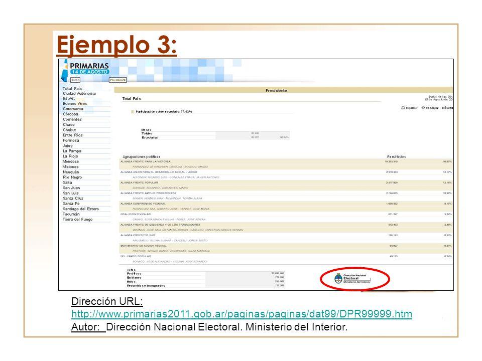 Dirección URL: http://www.primarias2011.gob.ar/paginas/paginas/dat99/DPR99999.htm http://www.primarias2011.gob.ar/paginas/paginas/dat99/DPR99999.htm A