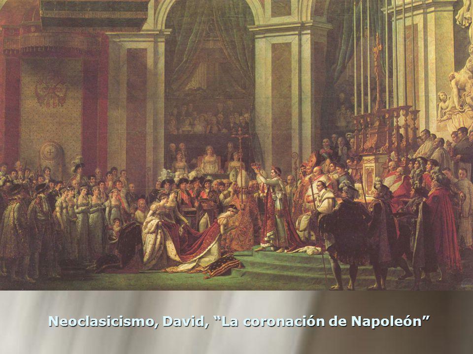 Neoclasicismo, David, La coronación de Napoleón
