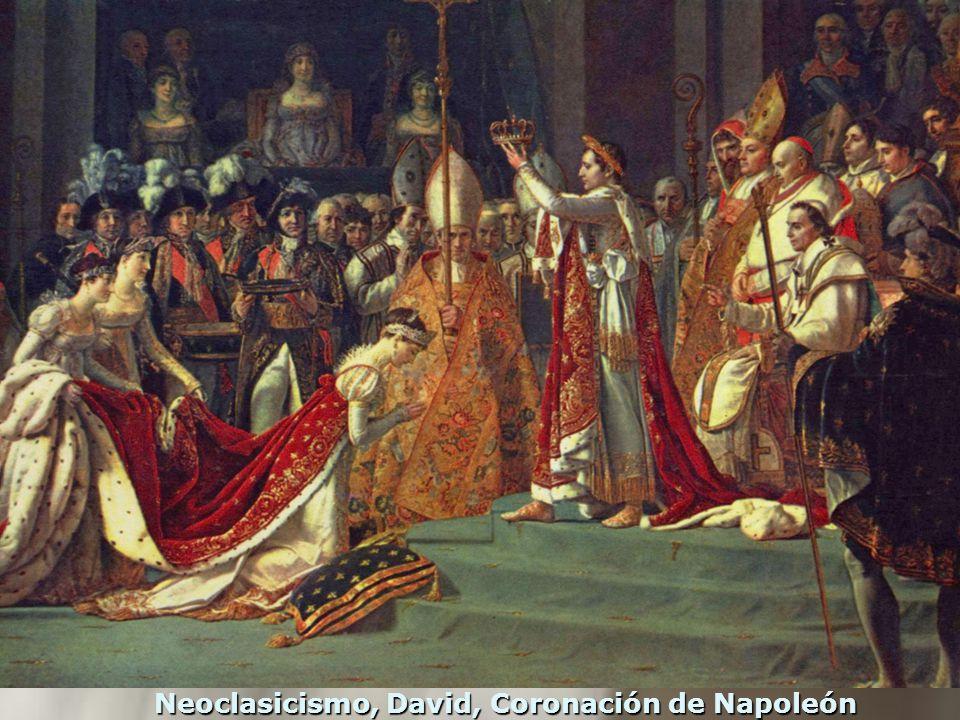 Neoclasicismo, David, Coronación de Napoleón