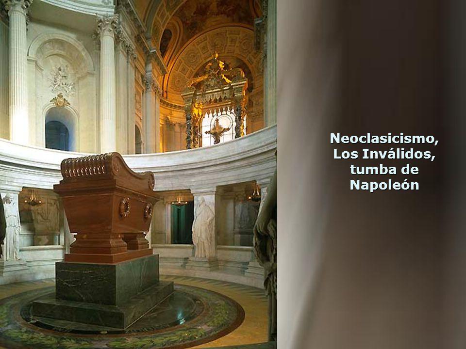 Neoclasicismo, Los Inválidos, tumba de Napoleón