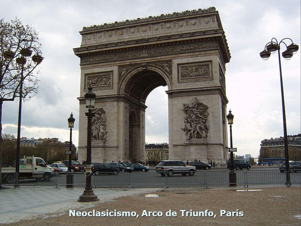 Neoclasicismo, Arco de Triunfo, París
