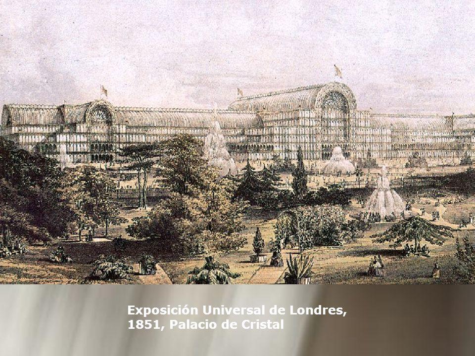 Exposición Universal de Londres, 1851, Palacio de Cristal