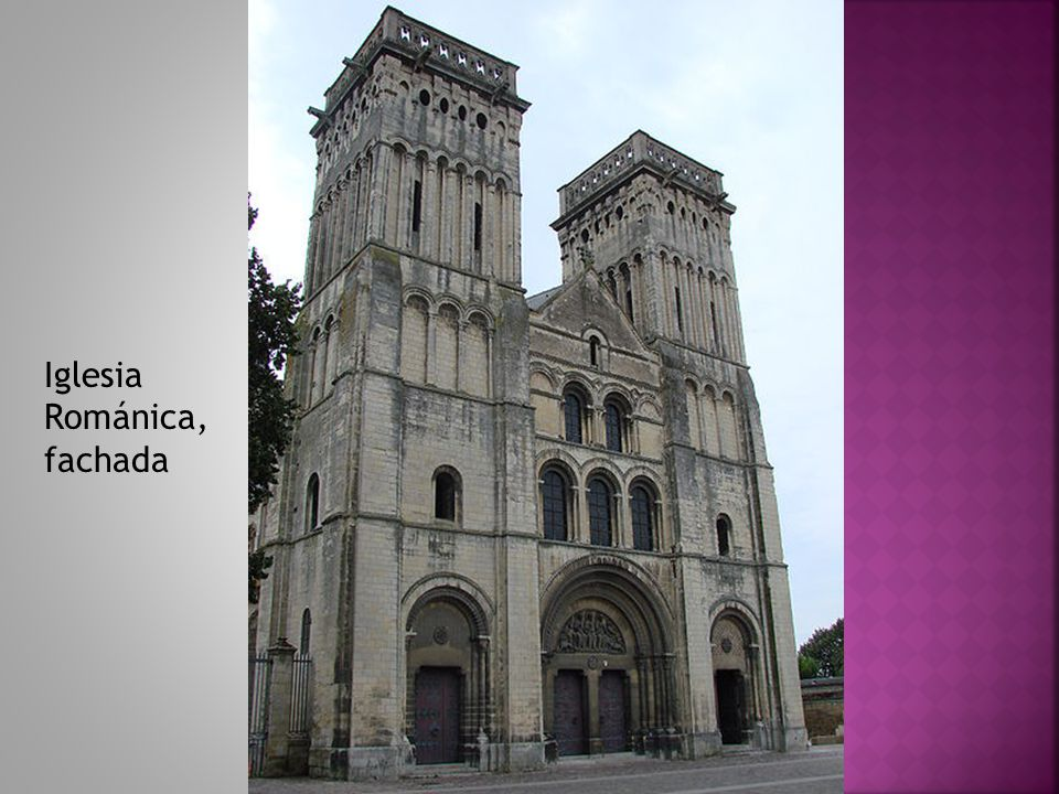 Iglesia Románica, fachada