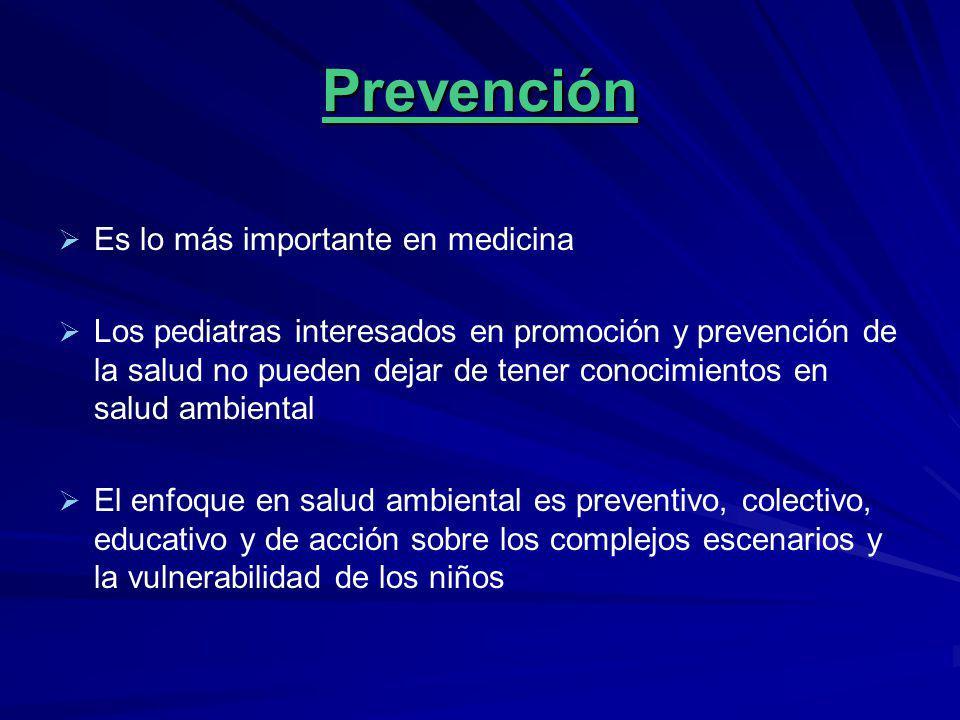 Prevención Es lo más importante en medicina Los pediatras interesados en promoción y prevención de la salud no pueden dejar de tener conocimientos en