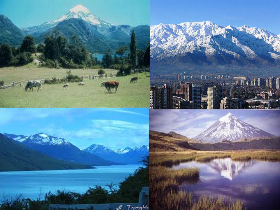Es uno de los sistemas montañosos más grandes del mundo. La cadena tiene 7.240 Km. de longitud, 241 Km. de ancho y un promedio de 3.660 m de altura.