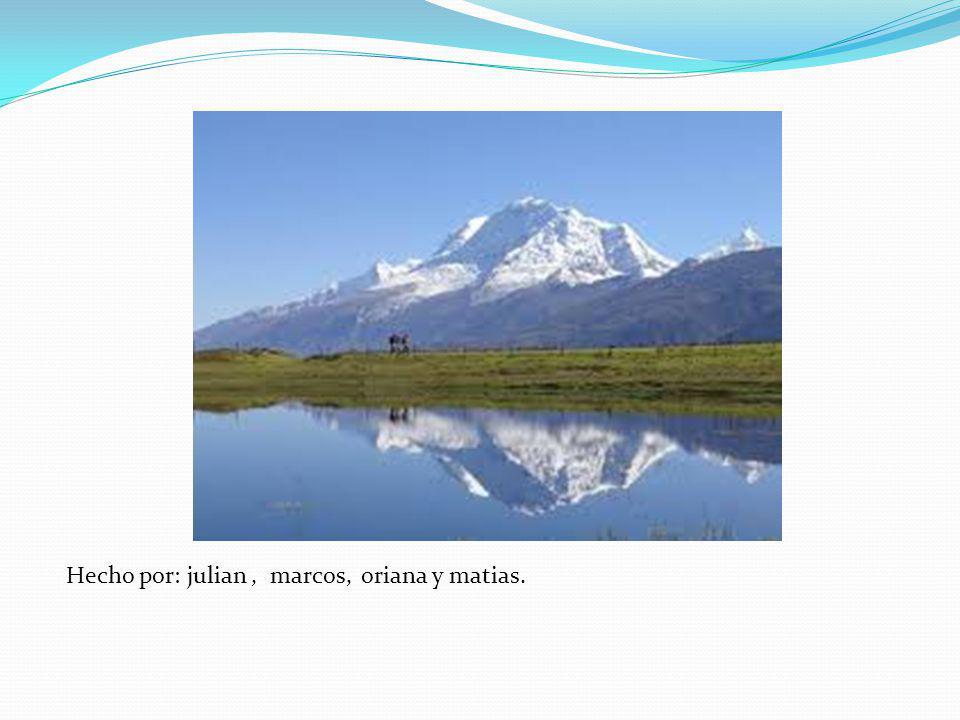 Desde su estrechamiento final al sur de Chile, los Andes se extienden en cadenas paralelas por Argentina, Bolivia, Perú, Ecuador y Colombia. En Venezu