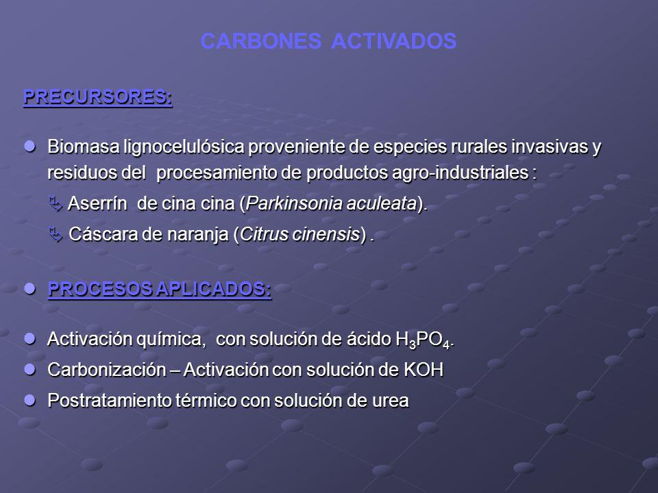 PRECURSORES: Biomasa lignocelulósica proveniente de especies rurales invasivas y residuos del procesamiento de productos agro-industriales : Biomasa l